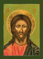 Deesis Cristo 18x24