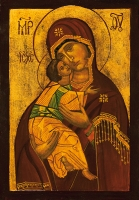 Madre di Dio di Vladimir 20x30