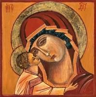Madre di Dio di Igor 20x20