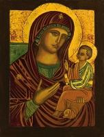 Madre di Dio di Ventimiglia 20x30