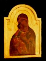 Madre di Dio di Vladimir 32 x 24