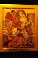 San Giorgio e il Drago 20x30