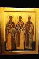 Tre santi Vescovi 25x30